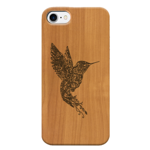 Funda iPhone Colibrí frontal